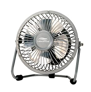 Lakewood 1002 All Metal Construction High Velocity 4-Inch Fan