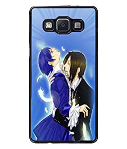 Fuson Love Couple Back Case Cover for SAMSUNG GALAXY A5 - D3834