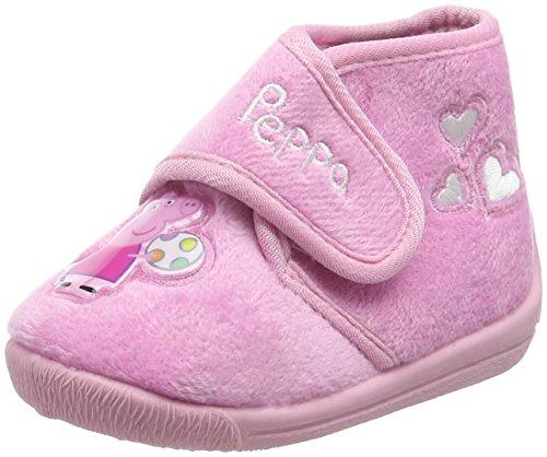 Peppa Pig Pp000193, Pantofole a Stivaletto Bambina, Rosa (Pink (o.Pnk/Pnk 008)), 26 EU