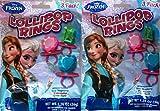 Disney Frozen Lollipop Rings 3 Pack(pack of 3)9 Rings