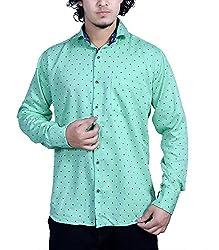 Bucci Men's Casual Shirt _bc103_Green_L