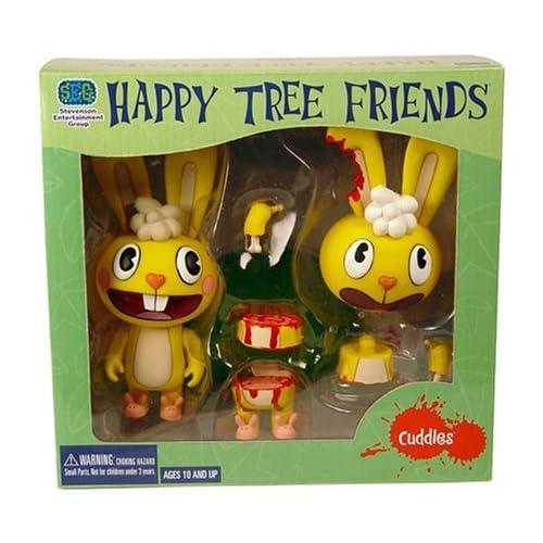 Amazon.com: Happy Tree Friends Cuddles Cut-Up Deluxe Action Figure Set