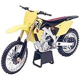 NewRay 1/12 Suzuki RM-Z450 2014 Suzuki Motocross / Off-Road Bike (Color: Suzuki RM-Z450 2014 Yellow)