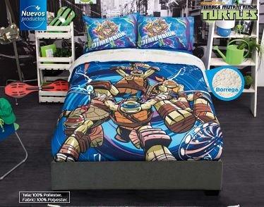 Ninja Turtles Fuzzy Fleece Blanket Twin/Full/Queen Size