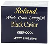 Roland Black Caviar, 3.5-Ounce Jars (Pack of 4)
