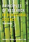Principles of Research in Behavioral Science: Third Edition