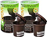 Ekobrew Keurig 2.0 Refillable K-cup Filter for 2.0 and 1.0 Brewers 2 Pack