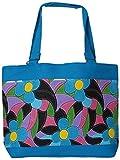 Craftshraft Women's Shoulder Bag (craft-71, Blue)