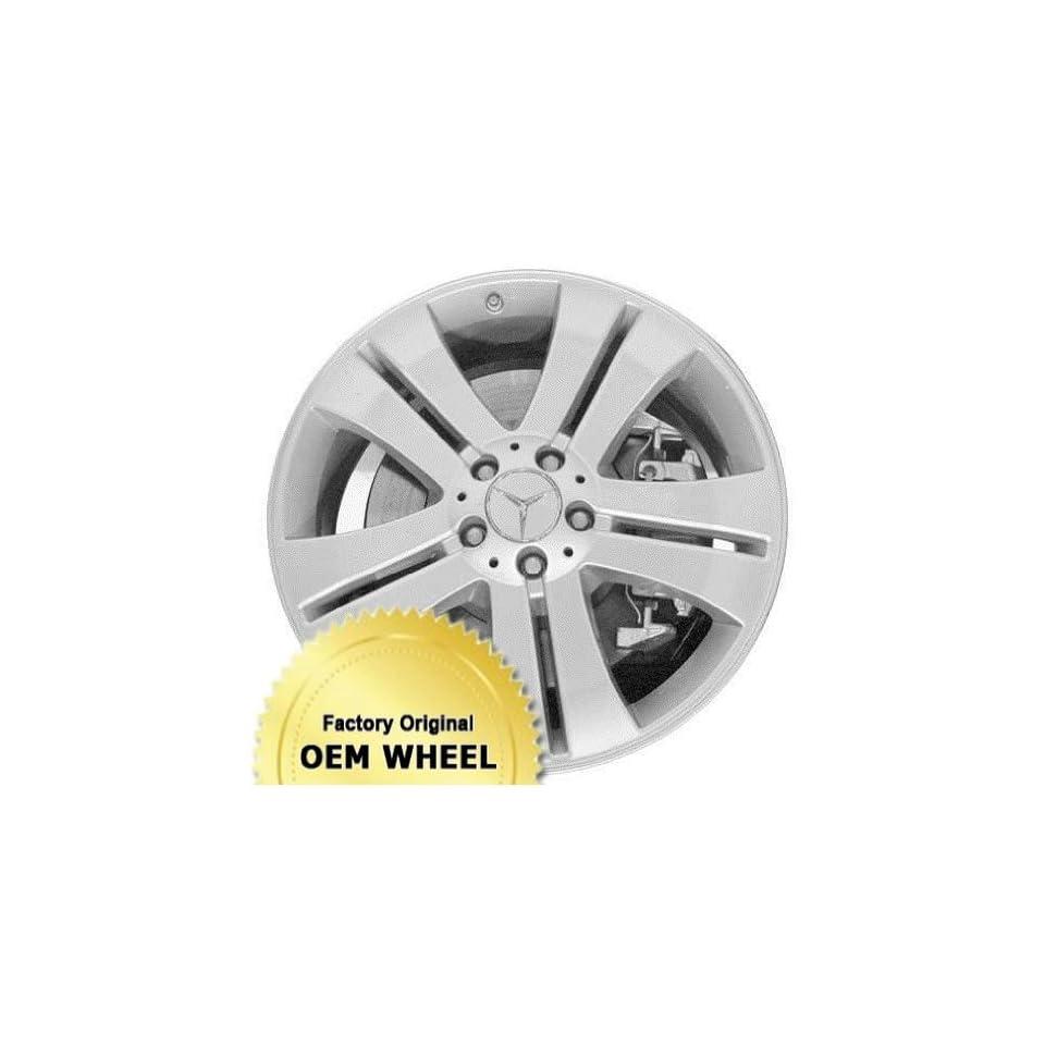 MERCEDES GL450,GL CLASS 19X8.5 5 DOUBLE SPOKES Factory Oem Wheel Rim  SILVER   Remanufactured Automotive