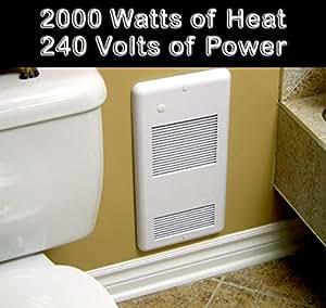 Amazon Com High Quality Bathroom Wall Heater Pulsair