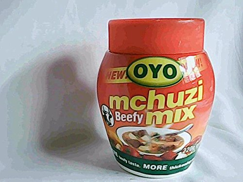 Kenya Spices-oyo Mchuzi Mix-beefy Mix 220gms(BUY 2 GET 60GMS CAN FREE) (Royco Mchuzi Mix compare prices)