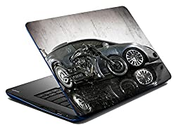 meSleep Car And Bike Laptop Skin