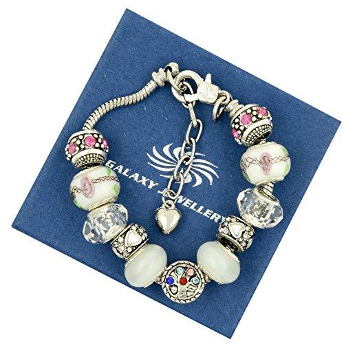 Bracciale Famiglia Love-regalo ideale per donne e ragazze, con confezione regalo