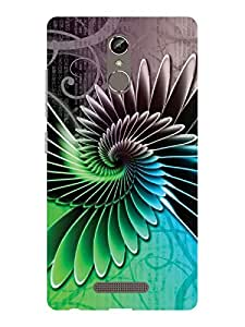 TREECASE Designer Printed Soft SIlicone Back Case Cover For Gionee S6S (not for GIONEE S6)