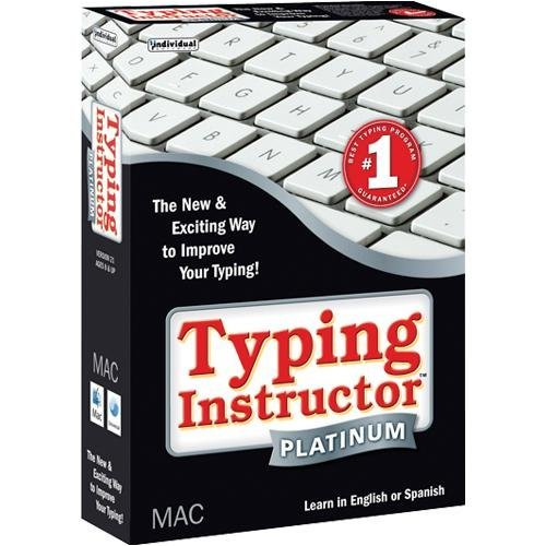 Typing Instructor Platinum Mac (Typing Instructor Mac compare prices)
