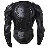 5139iw8rQ8L. SL160  Mens Motorbike Motorcycle Protective Body Armour Armor Jacket Guard Bike Bicycle Cycling Riding Biker Motocross Gear Black (X Large) Reviews
