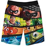 Disney Pixar's All Characters Boys' Swim Trunks