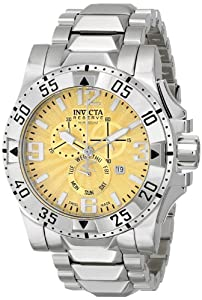 Invicta Men's 15305 Excursion Analog Display Swiss Quartz Silver Watch