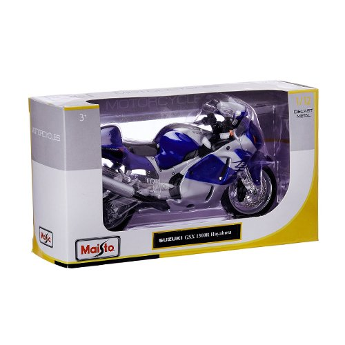 Maisto 1:12 Scale Special Edition Motorcycle - Kawasaki Ninja ZX-10R - Green