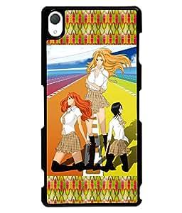 Printvisa 2D Printed GirlyDesigner back case cover for Sony Xperia Z2 - D4147