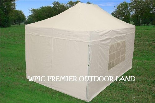 &$ Order 10×15 Pop up 4 Wall Canopy Party Tent Gazebo Set Ez W ...