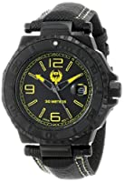 Brillier Men's 25-01 Hype 44mm Black PVD Plated Stainless Steel Date Function Watch by Brillier