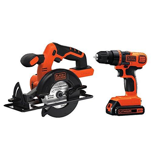Black & Decker BD2KITCDDCS 20V MAX Drill/Driver Circular Saw Combo Kit (Black And Decker Circular Saw Kit compare prices)