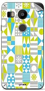 GsmKart GN5X Mobile Skin for LG Google Nexus 5X (Nexus 5X-479)