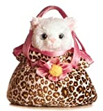 "Aurora Fancy Pals Pet Carrier PRETTY KITTY w/ 8"" Plush"