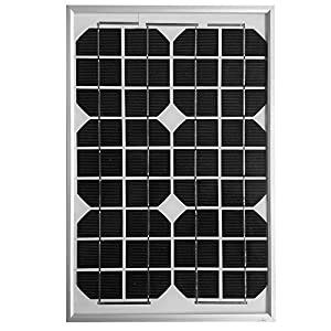 ACOPOWER® 10watt 10W Monocrystalline Photovoltaic Pv Solar Panel Module 12v Battery Charging