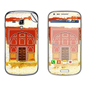 Skintice Designer Vinyl Skin Sticker for Samsung Galaxy S Duos 2 S7582, Design - place art
