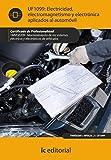 Tecnologia Y Comercio Del Automovil Best Deals - electricidad, electromagnetismo y electrónica aplicados al automóvil. tmvg0209 - mantenimiento de los sistemas eléctricos y electrónicos de vehículos
