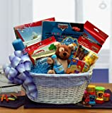 Disney Cars Activity and Snack Gift Basket for Boys