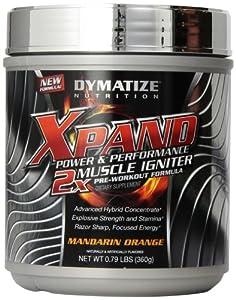 Dymatize Nutrition Xpand 2x Supplements, Mandarin Orange, 0.79 Pound