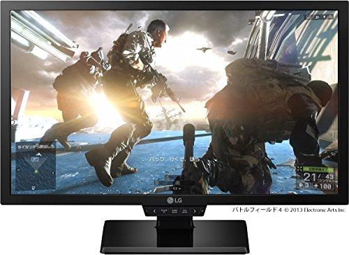 LG 24GM77-B ディスプレイ モニター 24インチ/TN 非光沢/Motion240(144Hz)/1ms/フルHDDisplayPort/HDMI