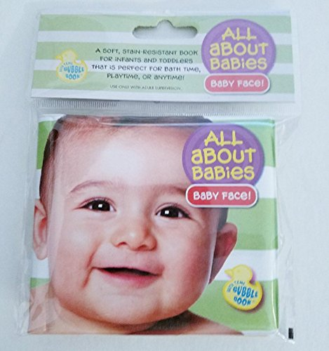 All About Babies Baby Face Bathtub Toy Infant Bath Time Learning Body Parts Toddler Playtime