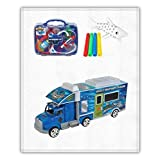 Sea Life Rescue Kit (Mobile Sea Life Veterinary Station, Sea Life Veterinary Kit & Color A Pal Shark)