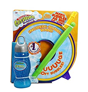 Gazillion Incredibubble Multiple Bubble Wand, Blue