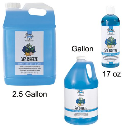 c2b93547904 The Features Top Performance Sea Breeze Shampoo Gallon -. pet supplies