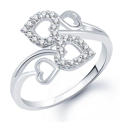 Meenaz-Heart-Ring-for-Girls-Women-Silver-Plated