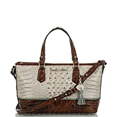 Mini Asher Satchel<br>Linen Tri-Color