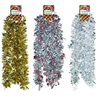 F C Young 66J-DIBA Assortment Jumbo Die-Cut Garland Pack of 12