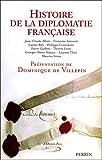 Histoire de la diplomatie fran�aise par Villepin