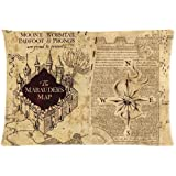 "Welcome!! Personalized Custom HARRY POTTER The Marauder's Map Two Sides Printed for 20""X30"" Inch Zippered Pillow Case Cover"