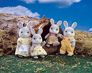 Calico Critters Cottontail Rabbit Family