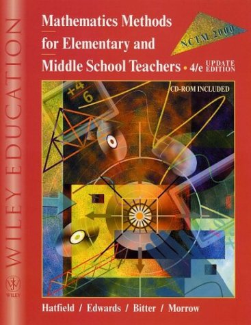 Mathematics Methods for Elementary and Middle School Teachers