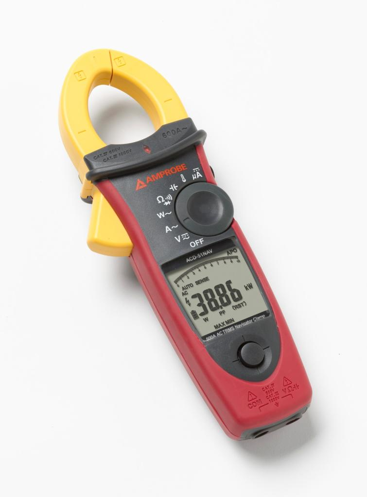 Power Quality Meter : Amprobe acd nav a hvac power quality clamp meter