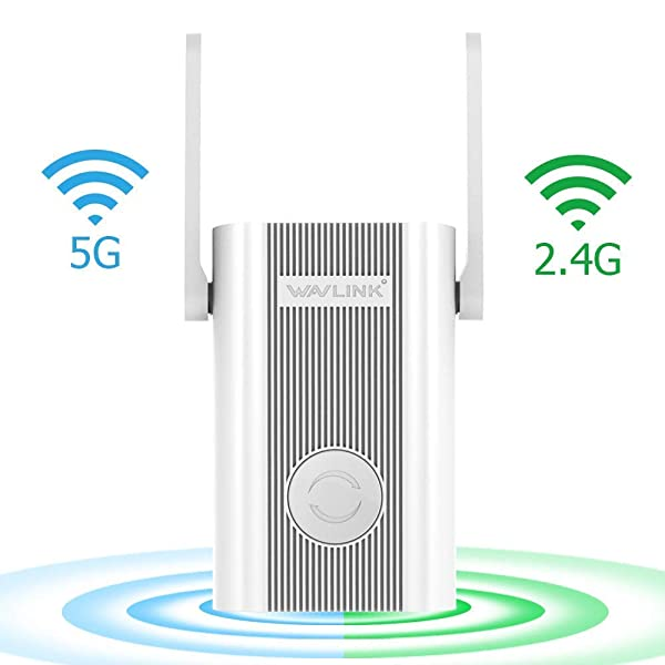 WAVLINK 1200Mbps Dual Band Wi-Fi Extender, Wireless Repeater