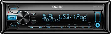 Kenwood KDC-461U Autoradio CD/DVD 1 x USB Noir