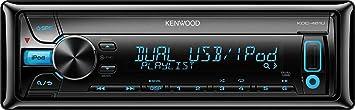 Kenwood KDC-461U Autoradio CD/DVD 1 x USB Noir